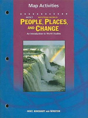 Holt People, Places, and Change Western World Map Activities: An Introduction to World Studies