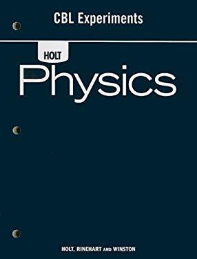 Holt Physics CBL Experiments