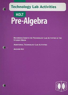 Holt Pre-Algebra Technology Lab Activities