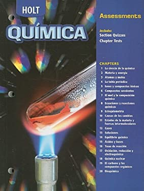 Holt Quimica: Assessments 9780030683329