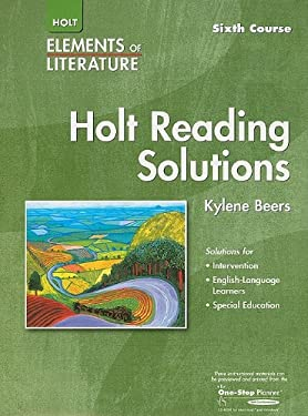 Holt Reading Solutions, Sixth Course Grade 12