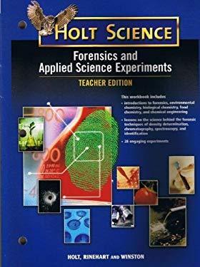Holt Sci: Forensic/Appld Sci Exp Tg 2006