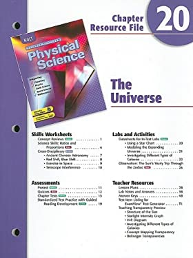 Holt Science Spectrum Chapter 20 Resource File: The Universe