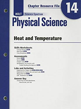 Holt Science Spectrum Physical Science Chapter 14 Resource File: Heat and Temperature