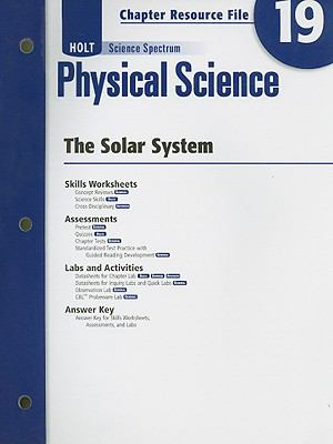 Holt Science Spectrum Physical Science Chapter 19 Resource File