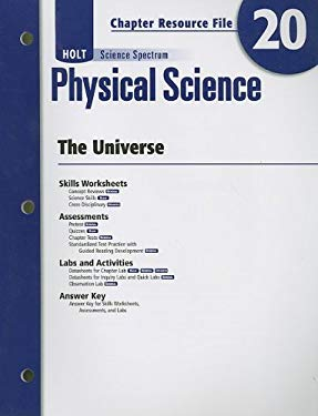 Holt Science Spectrum Physical Science Chapter 20 Resource File: The Universe