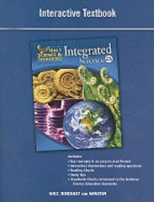 Holt Science & Technology: Integrated Science, Level Blue, Interactive Textbook