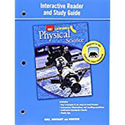Holt Science & Technology California: Interactive Reader Study Guide Grade 8 Physical Science