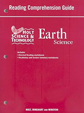 Holt Science & Technology Earth Science: Reading Comprehension Guide