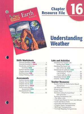 Holt Science & Technology Earth Science Chapter 16 Resource File: Understanding Weather