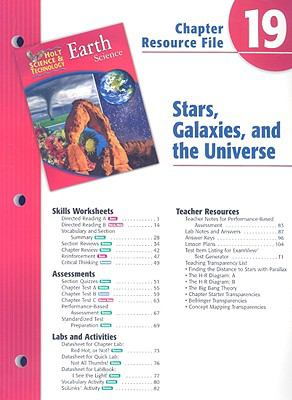 Holt Science & Technology Earth Science Chapter 19 Resource File: Stars, Galaxies, and the Universe
