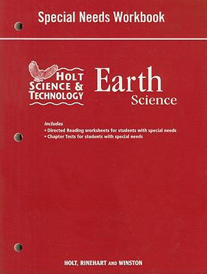 Holt Science & Technology Earth Science Special Needs Workbook