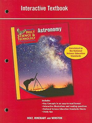 Holt Science & Technology: Astronomy Interactive Textbook