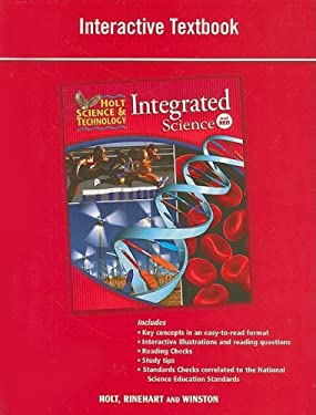 Holt Science & Technology: Integrated Science, Level Red; Interactive Textbook