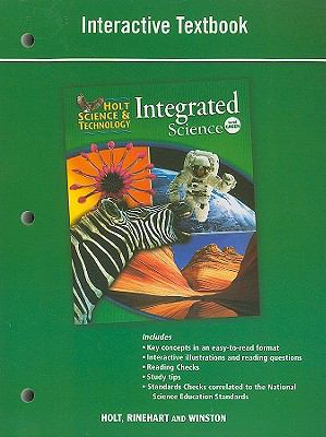 Holt Science & Technology Integrated Science, Level Green: Interactive Textbook