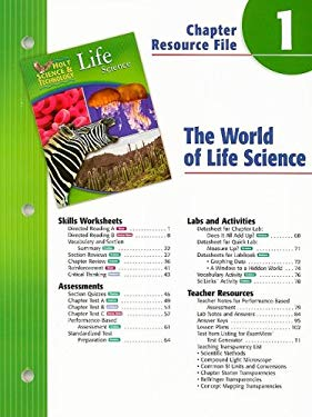 Holt Science & Technology Life Science Chapter 1 Resource File: The World of Life Science