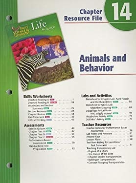 Holt Science & Technology Life Science Chapter 14 Resource File: Animals and Behavior