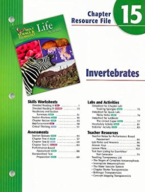 Holt Science & Technology Life Science Chapter 15 Resource Fil E: Invertebrates