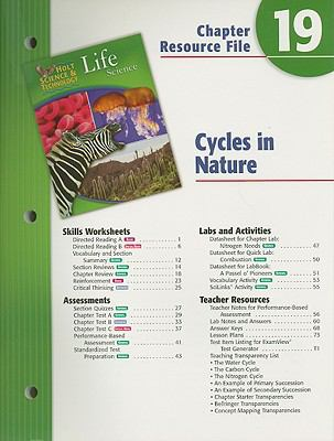 Holt Science & Technology Life Science Chapter 19 Resource File: Cycles in Nature