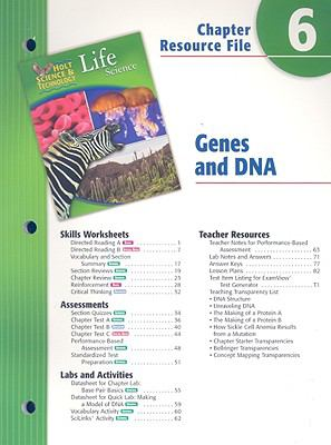 Holt Science & Technology Life Science Chapter 6 Resource File: Genes and DNA