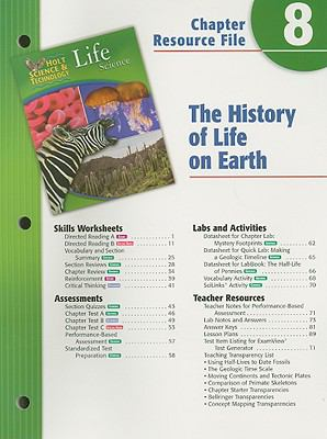 Holt Science & Technology Life Science Chapter 8 Resource File: The History of Life on Earth