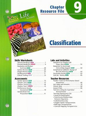 Holt Science & Technology Life Science Chapter 9 Resource File
