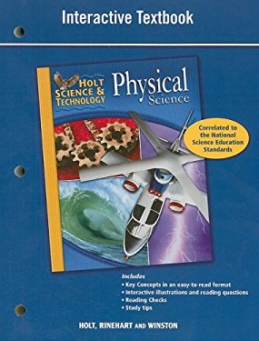 Holt Science & Technology Physical Science Interactive Textbook