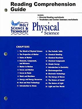 Holt Science & Technology Physical Science Reading Comprehension Guide