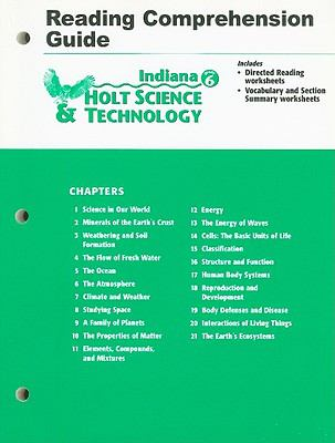 Holt Science & Technology Reading Comprehension Guide