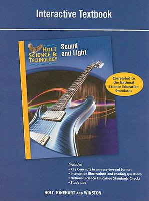 Holt Science & Technology Sound and Light Interactive Textbook