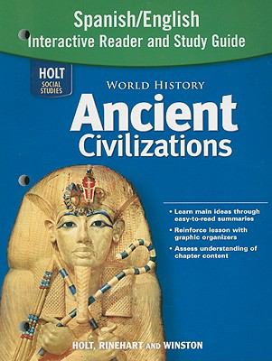 Holt Social Studies: World History Ancient Civilizations Spanish/English Interactive Reader and Study Guide