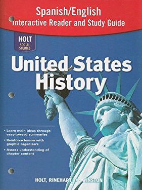 Holt Social Studies United States History Spanish/English Interactive Reader and Study Guide