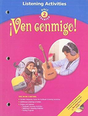 Holt Spanish 2: !Ven Conmigo! Listening Activities