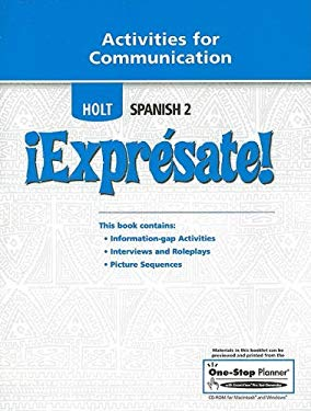 Holt Spanish 2 Expresate! Activities for Communicaiton