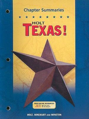 Holt Texas! Chapter Summaries