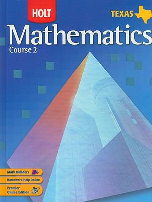 Holt Texas Mathematics, Course 2