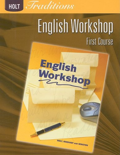 Holt Traditions English Workshop, First Course