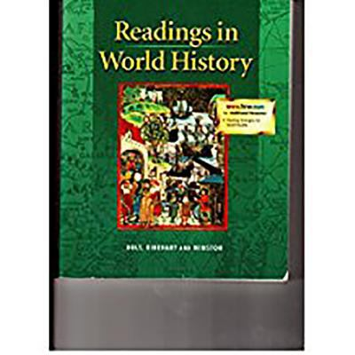 Holt United States History: Readings in World History Grades 6-8 Beginnings to 1914