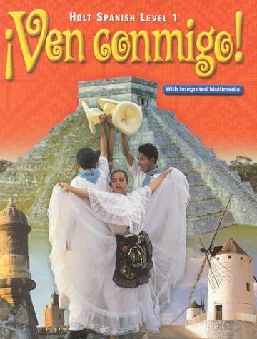 Holt Ven Conmigo: Student Edition Level 1 2000