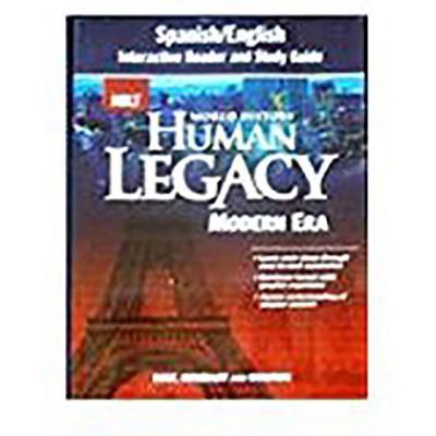 Holt World History: Human Legacy: Spanish/English Interactive Reader and Study Guide Modern Era