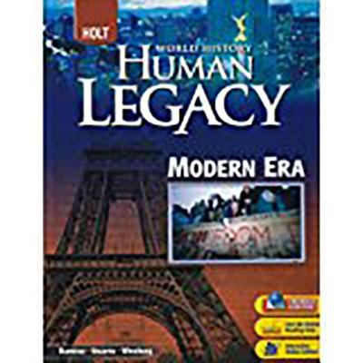 Holt World History: Human Legacy: Student Edition Modern Era 2008