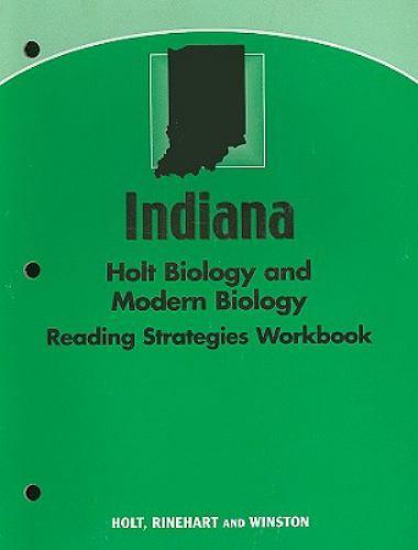 Indiana Holt Biology and Modern Biology Reading Strategies Workbook
