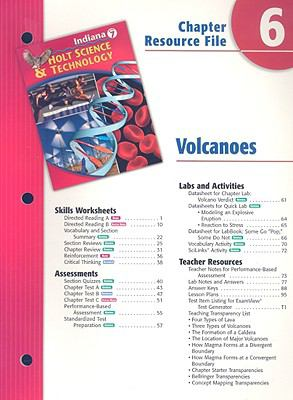 Indiana Science & Technology Chapter 6 Resource File: Volcanoes