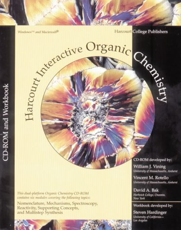 Interactive Organic Chemistry, Version 2.0 [With Student CD-ROM and Workbook]