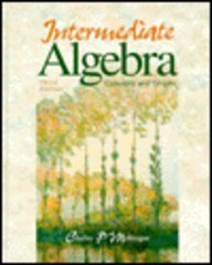 Intmed Alg: Concepts and Graphs 3e