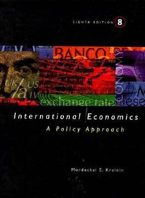 International Economics: A Political Approach