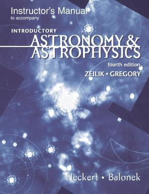 Introduction to Astronomy & Astrophysics