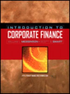 Introduction to Corporate Finance (with Thomson One - 6 Months and Access Card) 9780030350047