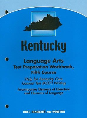 Kentucky Language Arts Test Preparation Workbook, Fifth Course