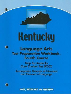 Kentucky Language Arts Test Preparation Workbook, Fourth Course